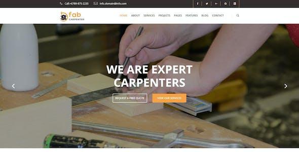Fab Carpenter | Carpenter, Wood Carpentry HTML5 Template