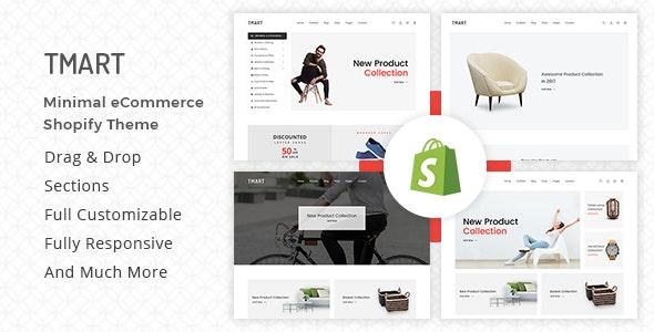 Tmart Minimalist Shopify Theme