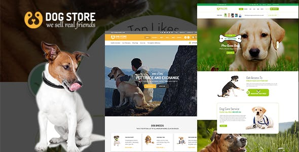 Pets - Haustiere  RTL WooCommerce WordPress Theme