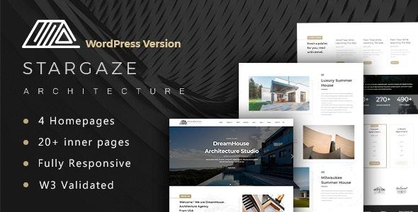 Stargaze - Architecture & Interior WordPress Theme - Creative WordPress
