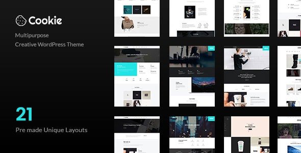 Cookie | Multipurpose Creative WordPress Theme - Creative WordPress