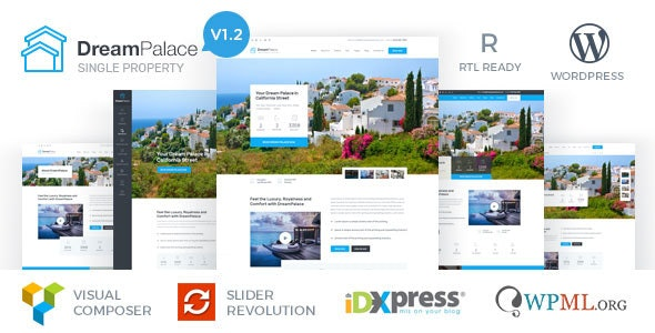 DreamPalace - Single Property Real Estate Theme - Real Estate WordPress