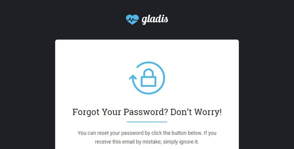 Gladis, Business Email Templates Pack + Builder Access