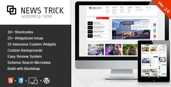 NewsTrick - Responsive WordPress Magazine / Blog - Blog / Magazine WordPress