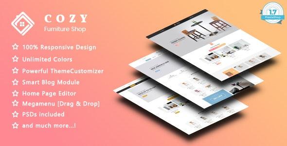 Cozy - Handmade Furniture Responsive PrestaShop 1.7 Theme - Shopping PrestaShop