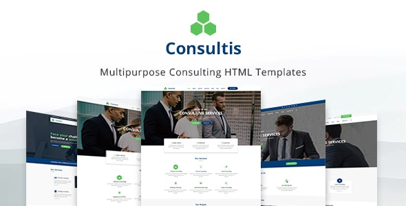 Consultis - Finance & Consulting Template - Business Corporate