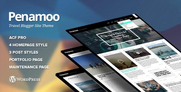 Penamoo - WordPress Theme for Travel Blogger - Blog / Magazine WordPress