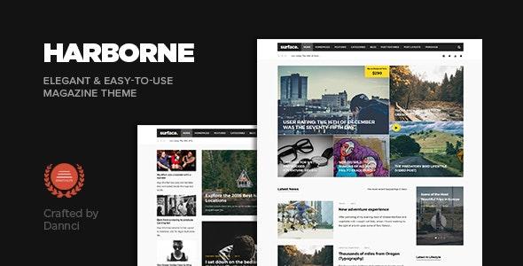 Harborne - Magazine & Blog WordPress Theme - Personal Blog / Magazine