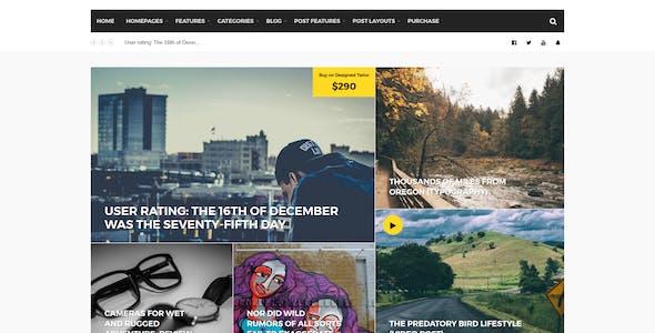 Harborne - Magazine & Blog WordPress Theme