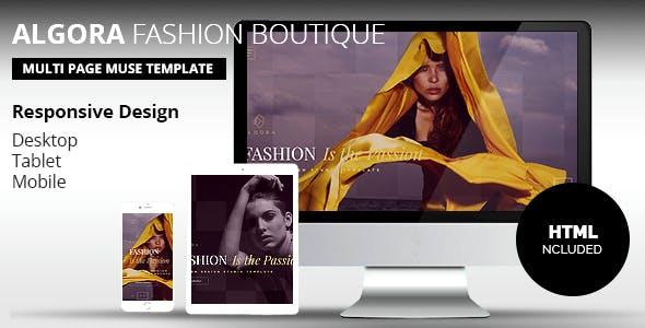 ALGORA Fashion Boutique  Muse Template