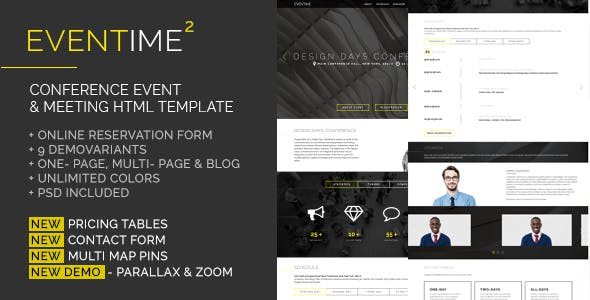 Registration Form Design HTML Website Templates from ThemeForest