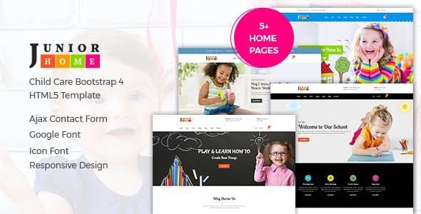 JuniorHome - Education HTML Template
