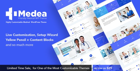 Medea - Multipurpose Health and Medical Theme by THEMEPLE
