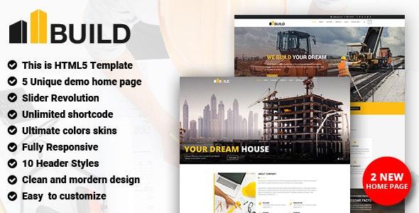 Build - Construction - Business Corporate