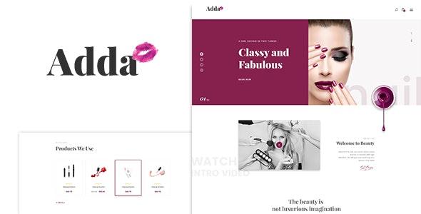 Adda - Blog & Fashion WordPress Theme - Personal Blog / Magazine