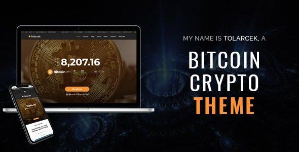 Tolarcek - A Bitcoin & CryptoCurrency WordPress Blog Theme
