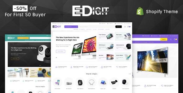 eDigit - Sectioned Multipurpose Shopify Theme - Shopping Shopify