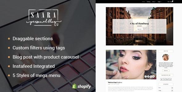 Saara - Blog Shopify Theme - Miscellaneous Shopify
