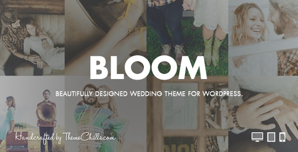 Bloom | WordPress Wedding Theme