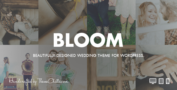 Bloom | WordPress Wedding Theme - Wedding WordPress