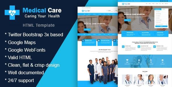 Medikare - Health & Medical HTML Template - Health & Beauty Retail