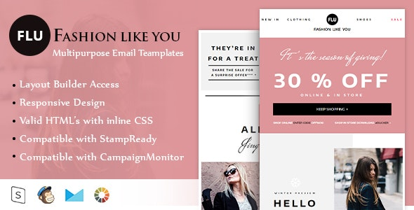 RSACreative Responsive Email Template - Email Templates Marketing