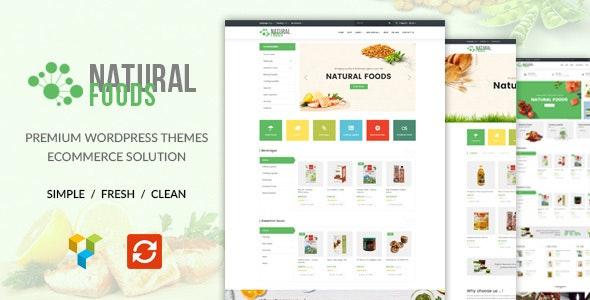 NaturalFood - Responsive WooCommerce WordPress Theme - WooCommerce eCommerce