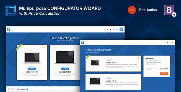 Configurator | Multipurpose Working Wizard - Specialty Pages Site Templates