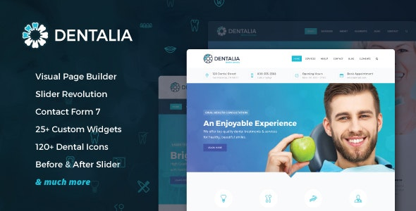 Dentalia - Dentist & Medical WordPress Theme - Health & Beauty Retail