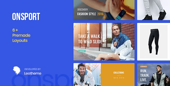 At Onsport - Prestashop 1.7.6.x Theme for Sport Fashion - Fashion PrestaShop