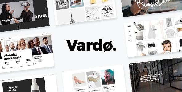 Vardø - Creative Design Portfolio Theme - Creative WordPress