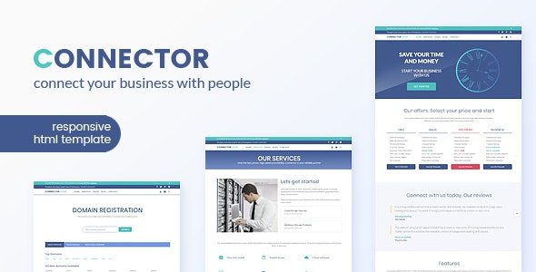 Connector - Hosting & Business HTML Template - Hosting Technology