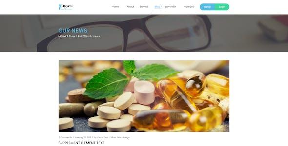 X-Tagusi Health Supplement PSD Template
