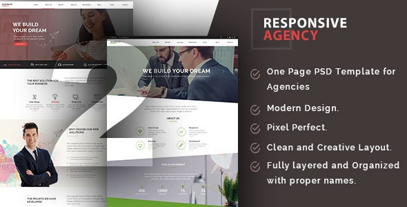 Responsive Agency - Creative Photoshop