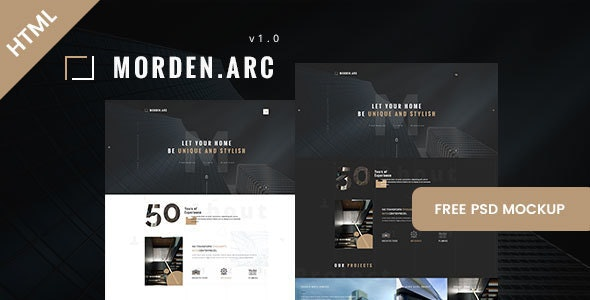 morden.arc - Architecture and Interior HTML Template - Business Corporate