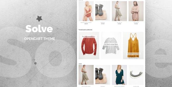 Solve - Premium OpenCart Theme