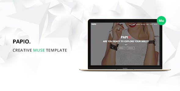 Download Papio One Page Muse Template