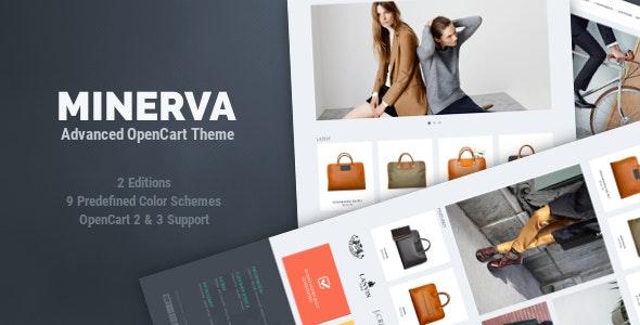 Minerva - Responsive OpenCart Theme - OpenCart eCommerce