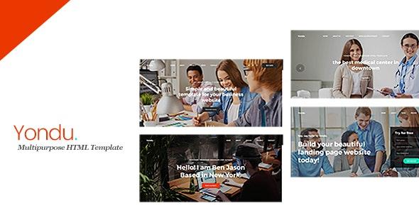 Yondu - Multipurpose HTML Template - Creative Site Templates