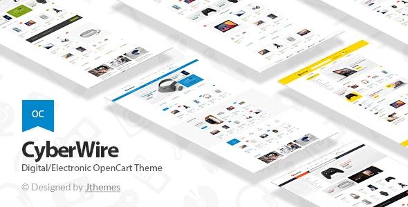 CyberWire - Premium OpenCart Theme - OpenCart eCommerce