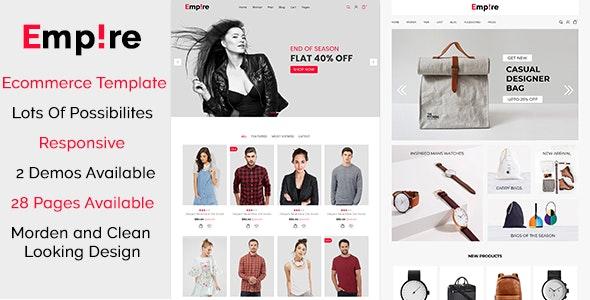 Empire - Fashion | Accessories - Site Templates