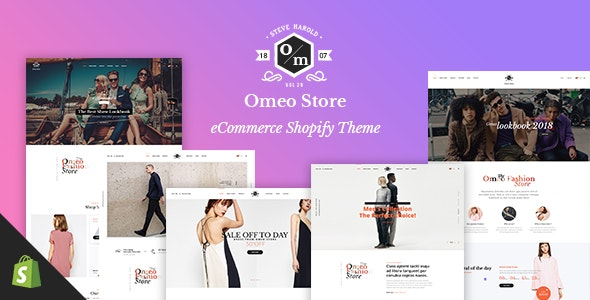 OMEO - Responsive Shopify Theme for Multipurpose, Fashion, Electronics, Apparel, Minimal Store - Fashion Shopify