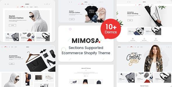 Mimosa - Responsive Clothing, Kids, Bags, Cosmetics, Electronics, Furniture, Fashion Shopify Theme