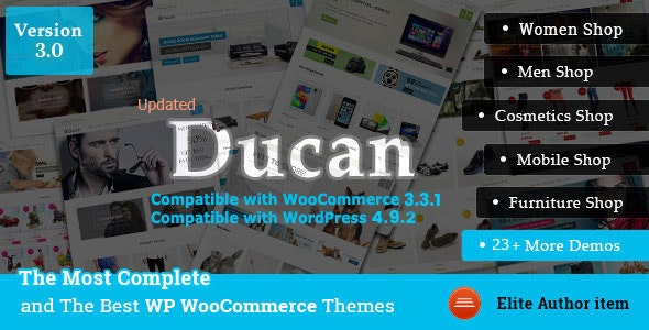 Ducan - Start An Online Store with WooCommerce WP Theme - WooCommerce eCommerce