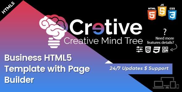 Creative Mind Tree - HTML5 Agency Template