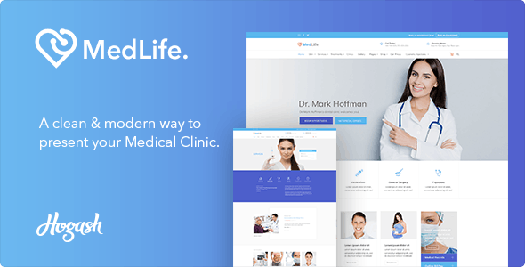 Medlife - Health Care HTML template - Health & Beauty Retail