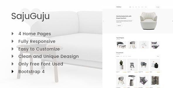 Sajuguju - Responsive Minimal eCommerce HTML Template