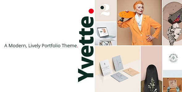 Yvette - Portfolio Theme for Creatives - Portfolio Creative