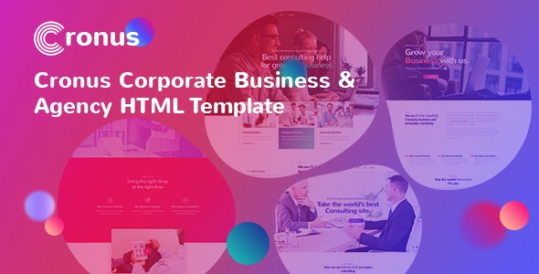 CRONUS - Corporate Business and Agency HTML Template - Corporate Site Templates