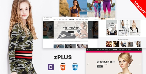 zPlus - Responsive Ecommerce Html Template - Retail Site Templates